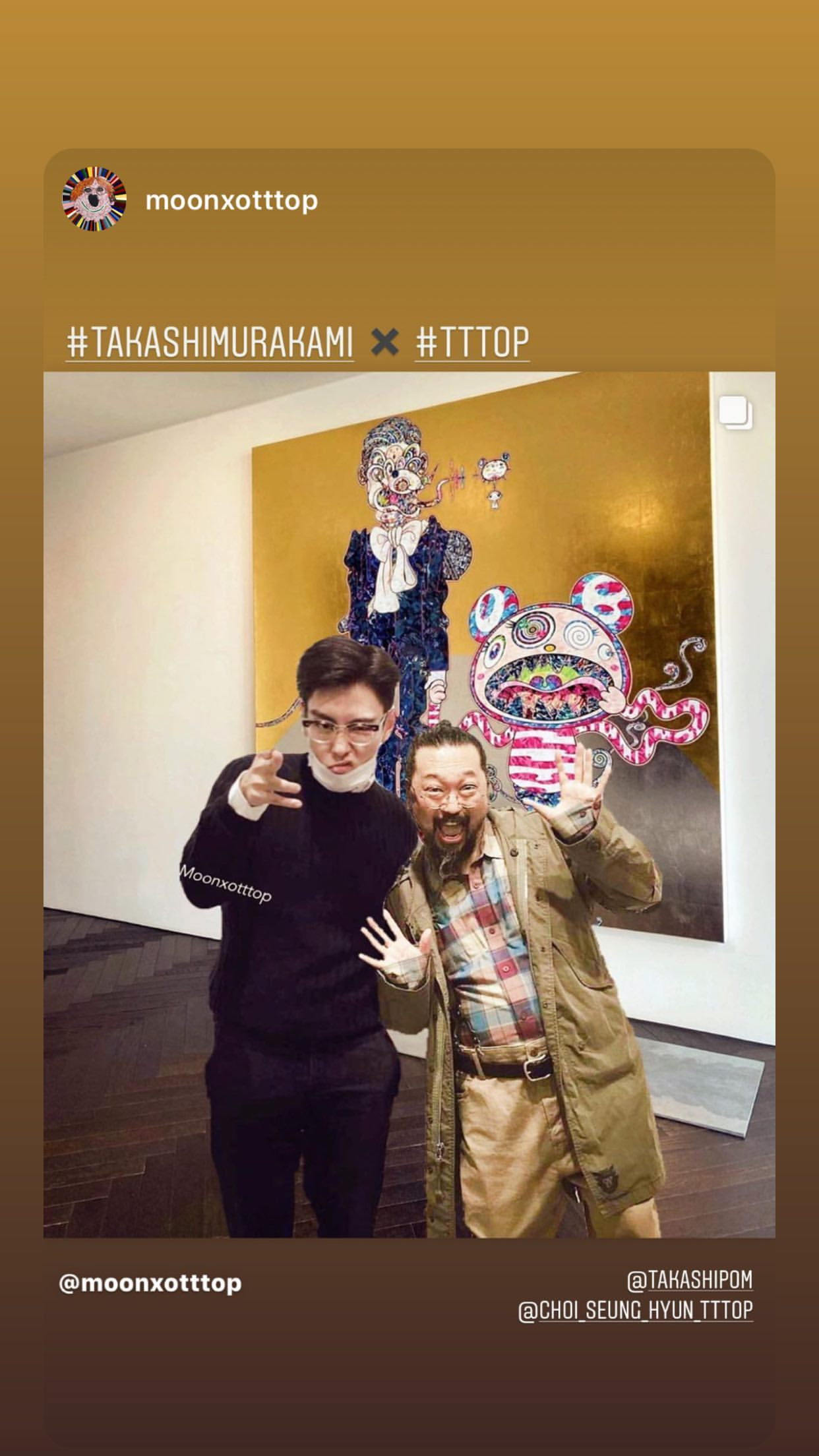 T.O.P Instagram Story 2020-05-19 21:09:26 KST