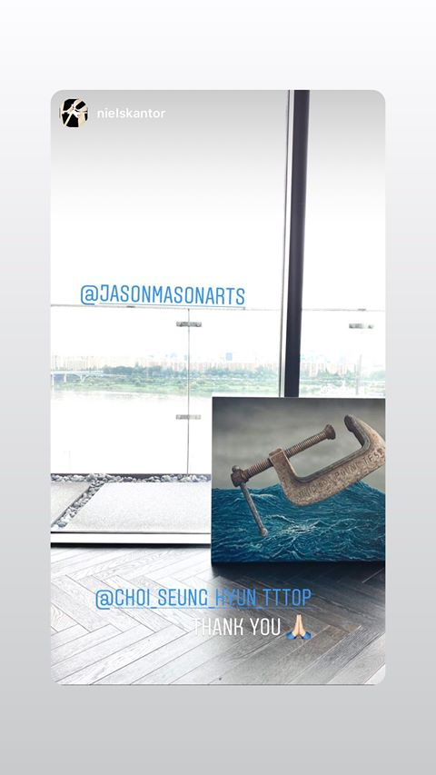 T.O.P Instagram Story 2020-07-31 00:00:00 KST